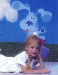 Kilory on her fourth birthday, 2-22-99