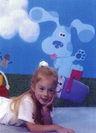 Nikki on her fourth birthday, 2-22-99